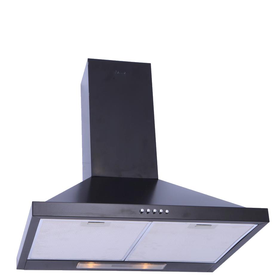 hotte aspirante 60cm pyramide noir sim. Black Bedroom Furniture Sets. Home Design Ideas